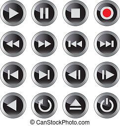 El icono/botón de Multimedia