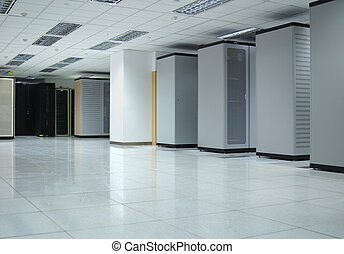 El interior de Datacenter