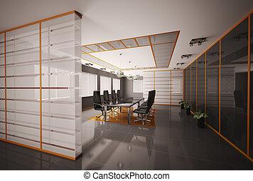El interior de la sala 3d