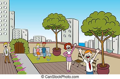 El jardín de la ciudad