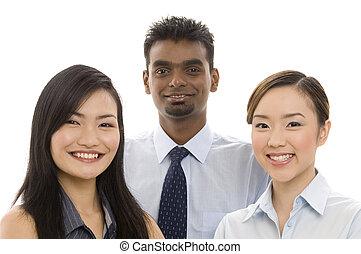El joven equipo de negocios 2