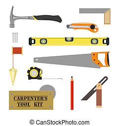 El kit de herramientas de Carpenter