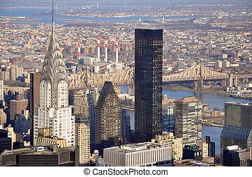 El lado este de Manhattan
