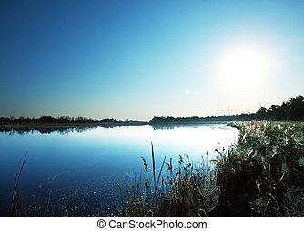 El lago de verano