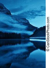 El lago Sunset