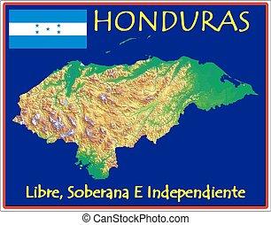 El lema de Honduras