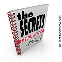 El libro secreto de información y conocimiento revelados
