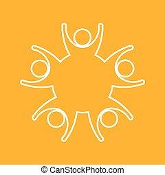 El logo de la familia