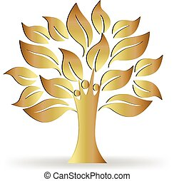 El logo de los árboles
