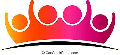 El logotipo de la familia