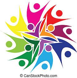 El logotipo de la gente