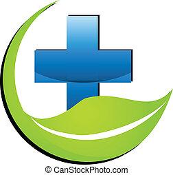 El logotipo de la medicina natural