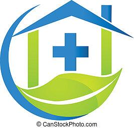 El logotipo de la naturaleza médica