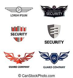El logotipo de la organización de seguridad