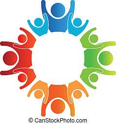 El logotipo de las familias