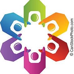 El logotipo de los trabajadores