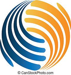 El logotipo de negocios