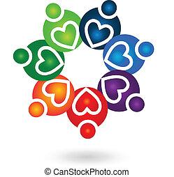 El logotipo de solidaridad