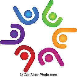 El logotipo del equipo de éxito
