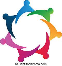 El logotipo del equipo Vector