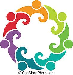 El logotipo del grupo 7