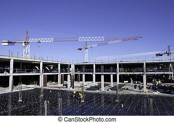 El lugar de construcción