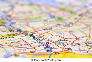 El mapa de la calle