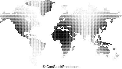 El mapa del mundo