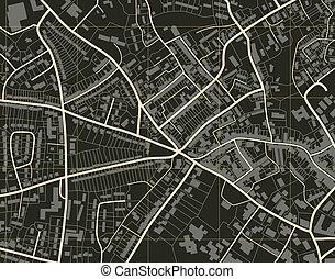 El mapa del pueblo