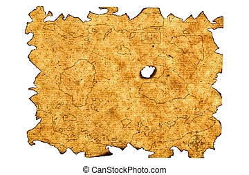 El mapa del tesoro