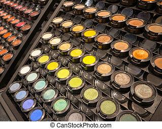 El maquillaje de belleza