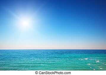 El mar azul de Deeb