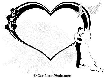 El marco de la boda