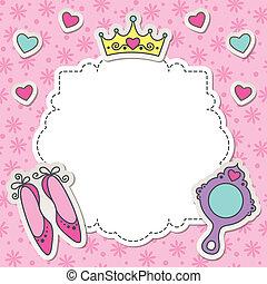 El marco de la princesa