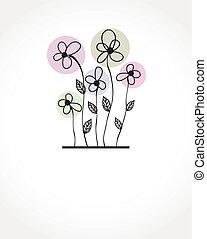 El marco de vector de vitrina de fondo floral