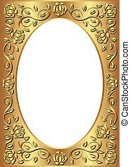 El marco dorado
