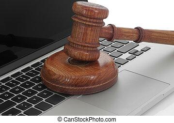 El martillo de la ley