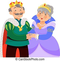 El mayor rey y reina