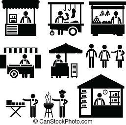 El mercado de las cabinas de comercio