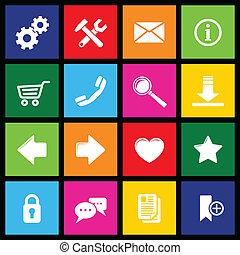 El metro de los iconos website