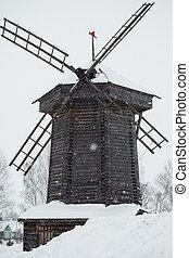 El molino de madera
