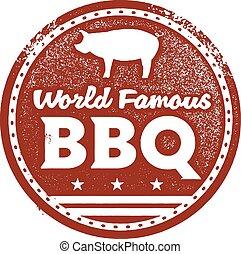 El mundialmente famoso BBQ