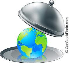 El mundo en un plato