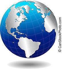 El mundo global de América del Norte