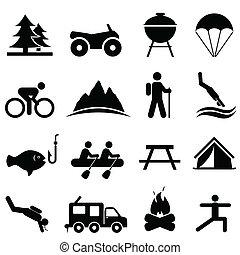 El ocio y los iconos de la recreación