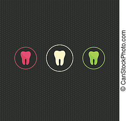 El origen del símbolo de los dientes