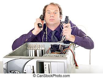 El pánico informático de los empresarios