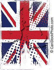 El póster de Inglaterra