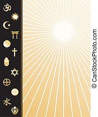 El póster de las religiones mundiales