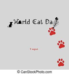 El póster del día del gato